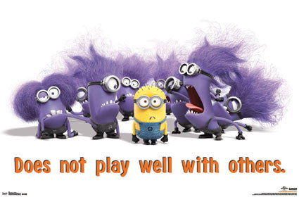 Despicable Me 2 - Evil Minion Movie Poster 22x34 RP6497 UPC017681064979
