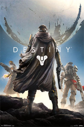 Destiny - Key Art Game Poster RP13697 UPC882663036974