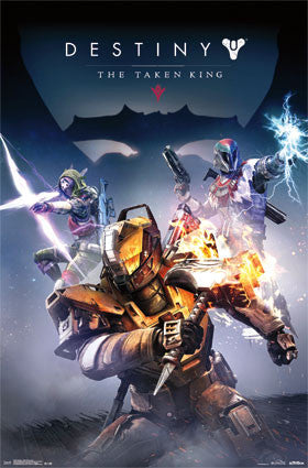 Destiny - Taken King Cover Game Poster RP14278 UPC882663042784 22x34