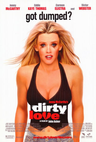 Dirty Love 2005 Movie Poster 27x40 Used Carmen Electra, Jenny McCarthy