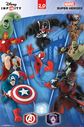 Disney Infinity 2.0 - Collage Movie Poster 22x34 RP13818 UPC882663038183