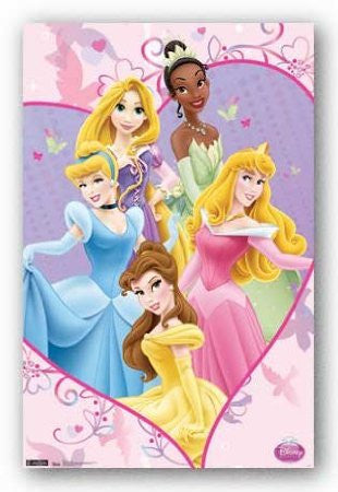 Disney Princess – Ever	Poster 22x34 RP1212 UPC017681012123
