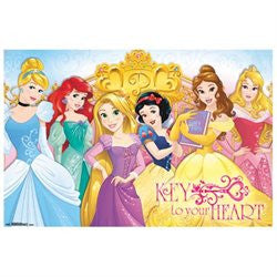 Disney Princess - Keys Poster 22x34 RP14008 UPC882663040087