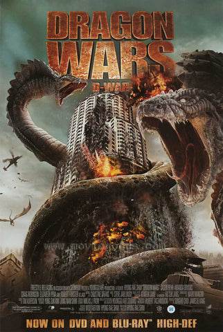 Dragon Wars Movie Poster 27x40  Used