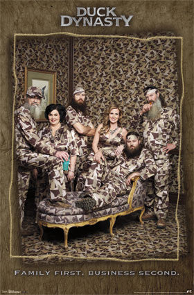 Duck Dynasty – Family TV Show Poster 22x34 RP2205  UPC017681022054