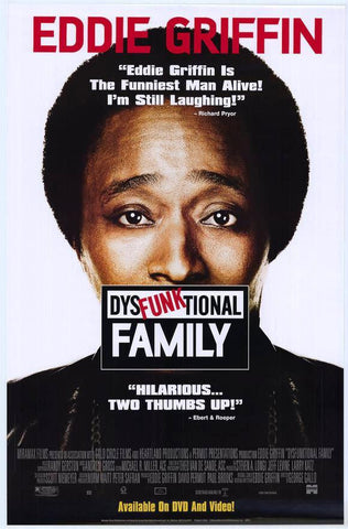 Dysfunktional Family Movie Poster 27x40  Used  Robert Noble, Joe Howard, Eddie Griffin