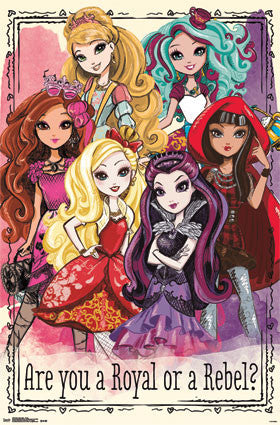 Ever After High - Group Poster 22x34 RP13576 UPC882663035762
