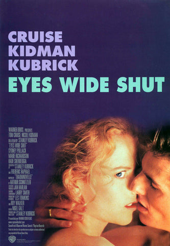 Eyes Wide Shut 1999 Movie Poster 27x40 Used Tom Cruise, Nicole Kidman
