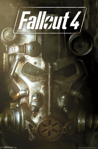 Fallout 4 - Ket Art Video Game Poster 22x34 RP14724 UPC882663047246