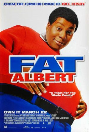 Fat Albert Movie Poster 27x40 Used Bill Cosby
