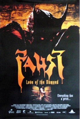 Faust: Love of the Damned Movie Poster 27x40 Used  Ferran Lahoz, Fermí Reixach, Carlos Lasarte, Junix Inocian, Marc Martínez, Mònica Van Campen, Andrew Divoff, Isabel Brook, Mark Frost, Jeffrey Combs, Francisco Maestre