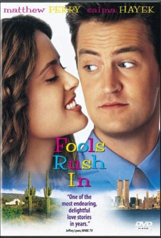 Fools Rush In Movie Used DVD 1997 UPC043396949492 Matthew Perry, Salma Hayak