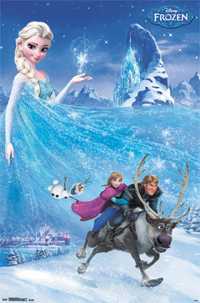 Frozen – One Sheet Poster 22x34	 RP13242  UPC882663032426 Disney