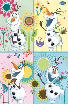 Frozen Fever - Olaf Movie Poster 22x34 RP13865 UPC882663038657 Disney