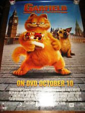Garfield a Tail of Two Kitties Movie Poster 27x40 Used Tim Curry, Bill Murray, Jennifer Love Hewitt