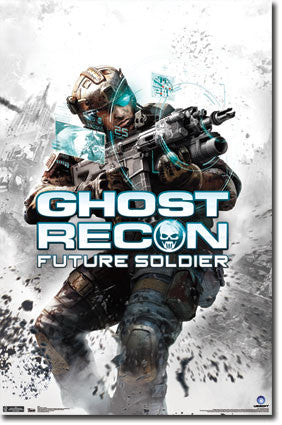 Ghost Recon – Key Art Poster 22x34 RP1762