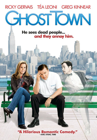 Ghost Town Movie DVD 2008 Used UPC097363493648