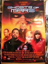 Ghosts of Mars Movie Poster 27x40 (2001) Used Jason Statham, Peter Jason, Duane Davis, Clea DuVall, Chance Romero, Michael Krawic, Matt Nolan, Doug McGrath, Ice Cube, Liam Waite, Lobo Sebastian, Rosemary Forsyth, Eric Martinez, Harry Jay Knowles