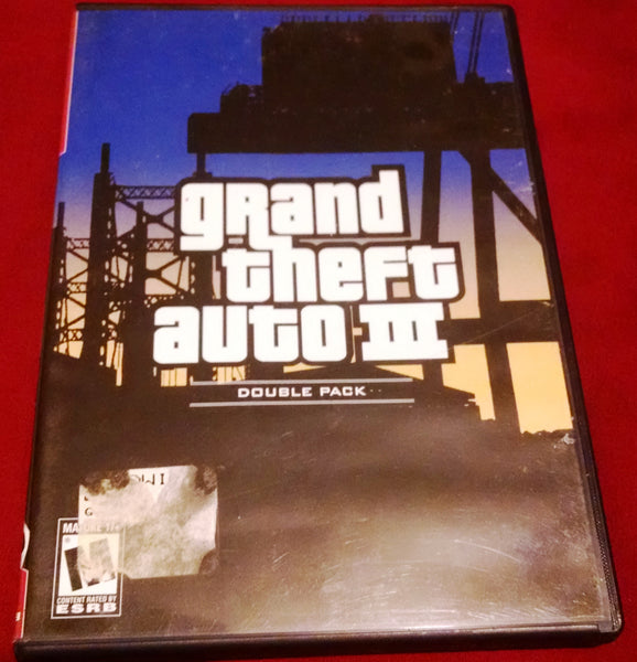Grand Theft Auto III (PS2) Playstation 2 Video Game UPC: 710425270796