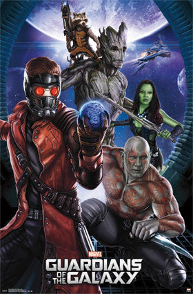 Guardians Of The Galaxy - Group Movie Poster 22x34 RP2229 UPC017681022290