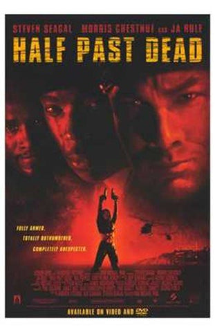 Half Past Dead Movie Poster 27x40 Used Nia Peeples, Steven Seagal