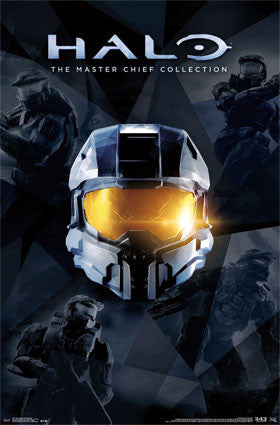 Halo - Master Chief Collection Game Poster 22x34 RP13270 UPC882663037841