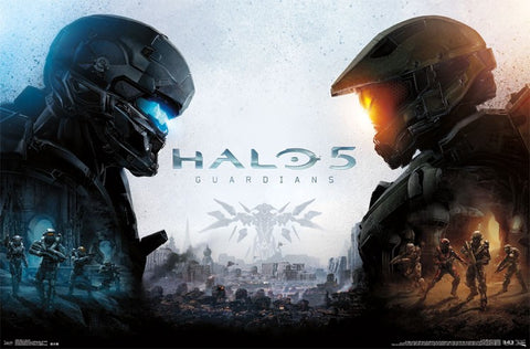 Halo 5 - Key Art Game Poster 22x34 RP13610 UPC882663036103