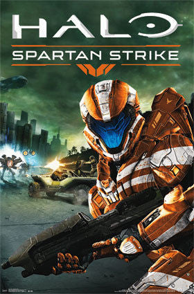 Halo Spartan Strike Game Poster 22x34 RP13931 UPC882663039319