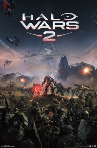 Halo Wars - Key Art Game Poster RP14527 22x34 UPC882663045273