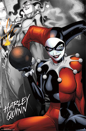 Harley Quinn - The Bomb Movie Poster 22x34 RP13747 UPC882663037476 DC Comics Batman