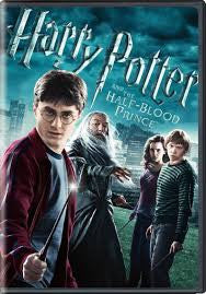Harry Potter and the Half-Blood Prince Movie DVD 2009 Used Widescreen Edition UPC085391200390