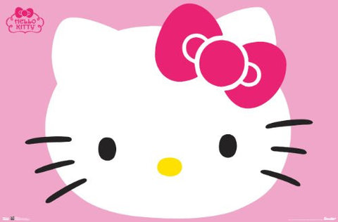 Hello Kitty - Face Poster 22x34 RP6045