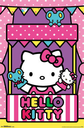 Hello Kitty - Puppets Poster 22x34 RP2265