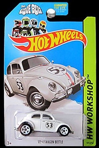 New 2014 New Hot Wheels Volkswagen Beetle Herbie The Love Bug Movie Car