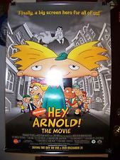 Hey Arnold! The Movie, Movie Poster 27x40 (2002) Used Elizabeth Ashley, Paul Sorvino, Maurice LaMarche, Dom Irrera, Bobby Edner, Robert Torti, Spencer Klein, Tress MacNeille, Kath Soucie, James Keane, Olivia Hack