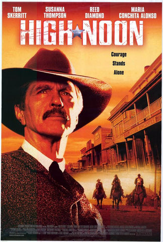 High Noon 2000 TV Movie Poster 27x40 Used