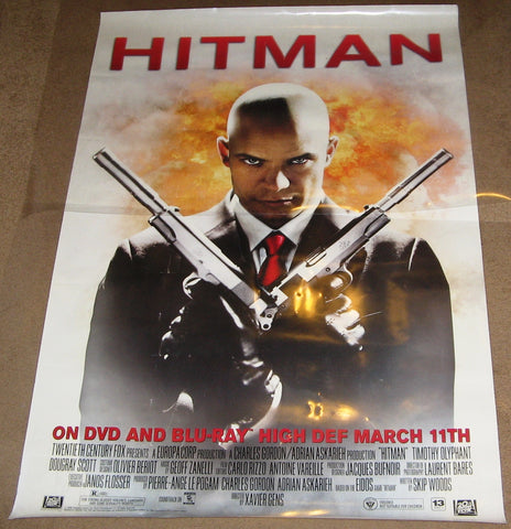 Hitman 2007 Movie Poster 27x40 Used