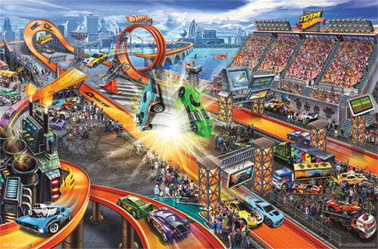 Hot Wheels – Crash Poster 22x34 RP2123 UPC017681021231