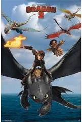 How To Train Your Dragon 2 - Flight Movie Poster 22x34 RP2226 UPC017681022269