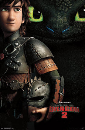 How To Train Your Dragon 2 - One Sheet Movie Poster 22x34 RP2225 UPC017681022252