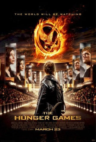 The Hunger Games - Arena Movie Poster 22x34 RP0457 UPC017681004579
