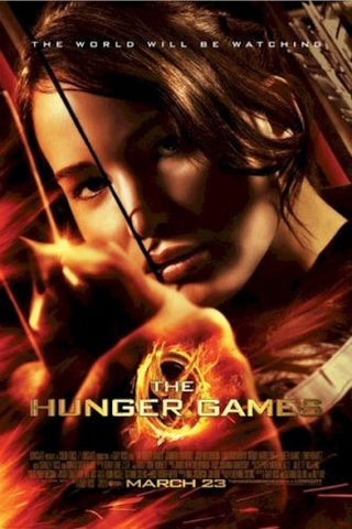 The Hunger Games Katniss Movie Poster 22x34 RP0455 UPC017681004555