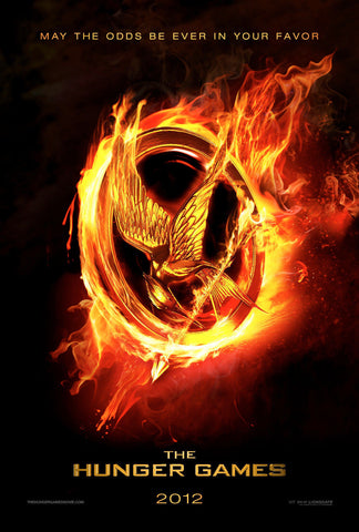 The Hunger Games - Teaser Movie Poster 22x34 RP5395 UPC017681053959