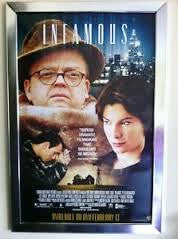 Infamous Movie Poster 27x40 Used