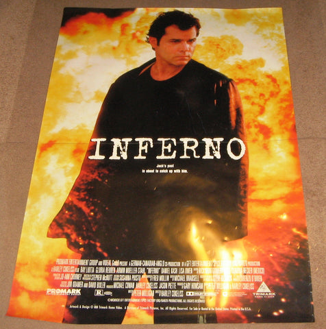 Inferno 2000 Movie Poster 27x40 Used Ray Liotta
