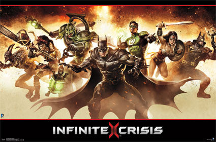 Infinite Crisis – Group Poster 22x34 RP13219 UPC882663032198