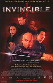 Invincible Movie Poster (2001) 27X40 Used David Field, Rodney Power, Maya McClean, Barry Otto, Billy Zane, Byron Mann, Tory Kittles, Simone McAullay, Craig McLachlan, Mark Baker, George Cheung, Dominic Purcell, Fiona Stewart, Linal Haft