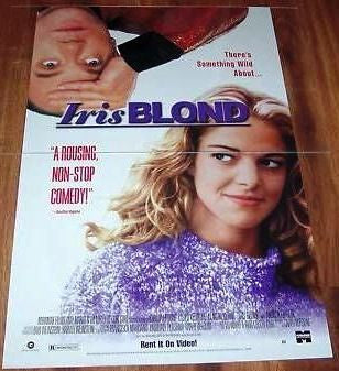 Iris Blonde Movie Poster 27x40 Used
