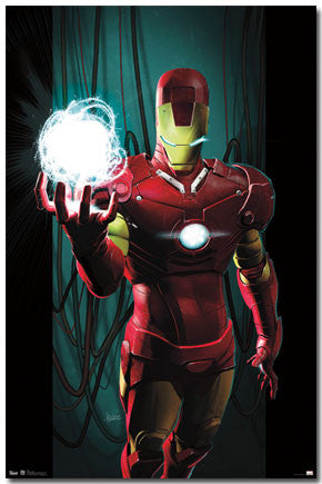 Iron Man – Energy Movie Poster 22x34 RP5964  UPC017681059647