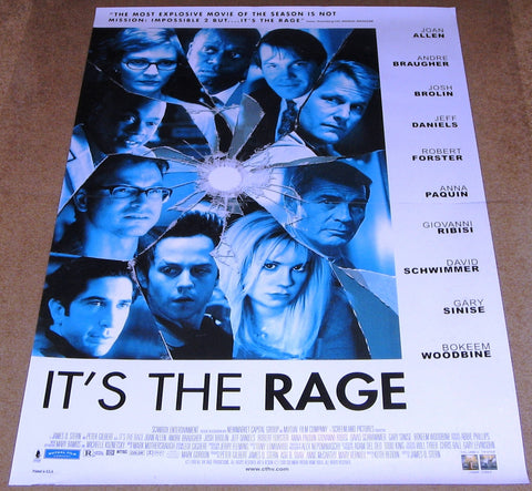 It's The Rage Movie Poster 27x40 Used